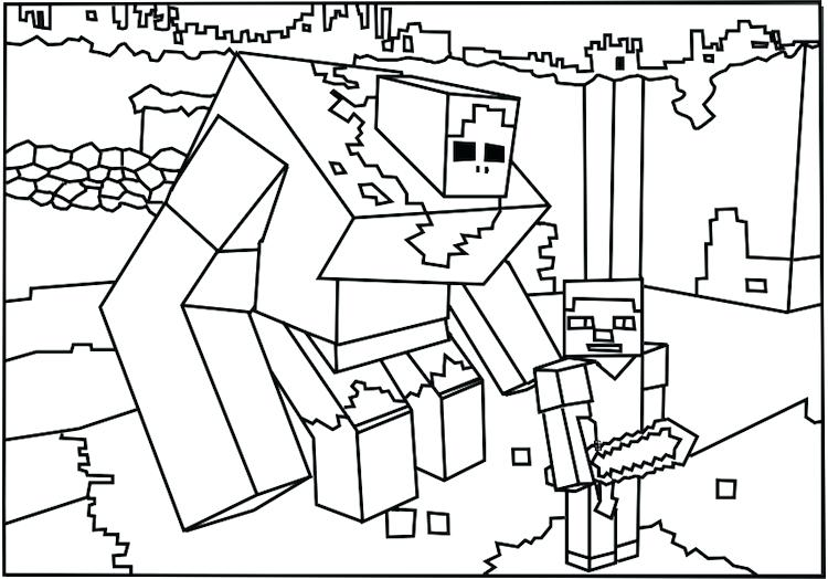 750x524 Coloring Pages For Minecraft Free Coloring Pages Coloring Pages