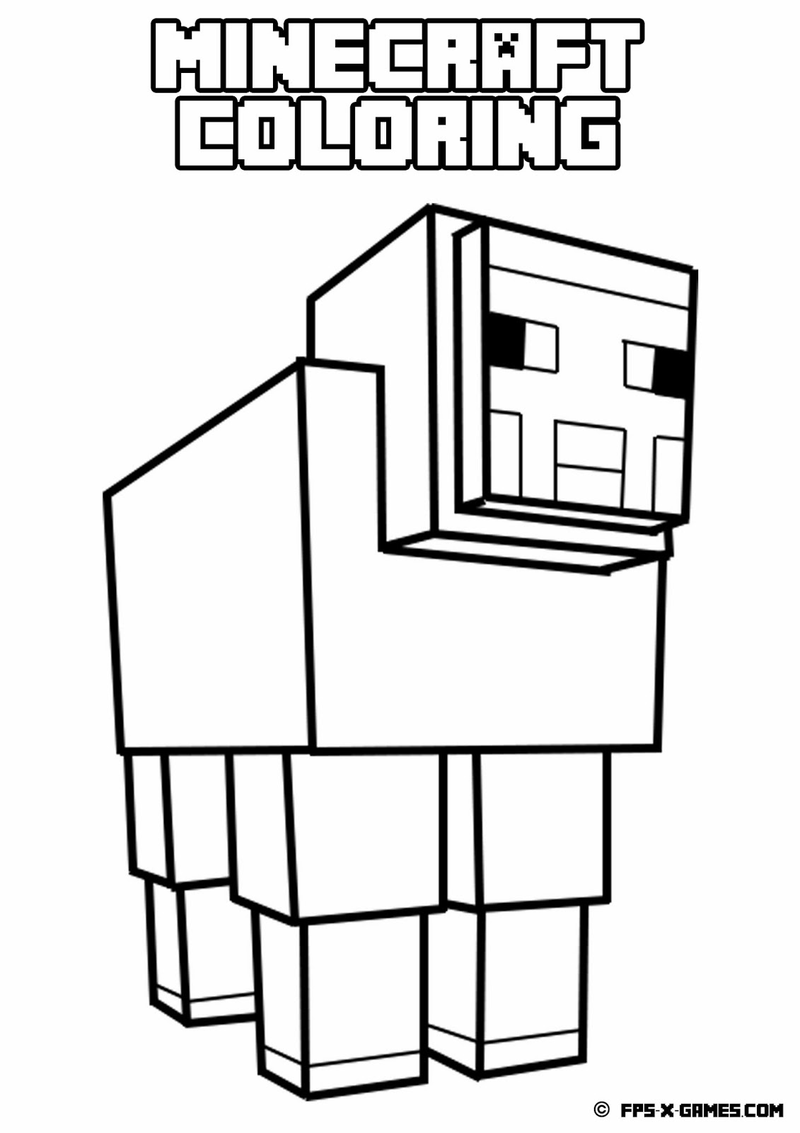 photo relating to Creeper Face Printable titled Minecraft Creeper Experience Coloring Internet pages at