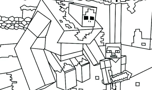 640x380 Minecraft Pictures To Print As Well As Color Pages Coloring Pages