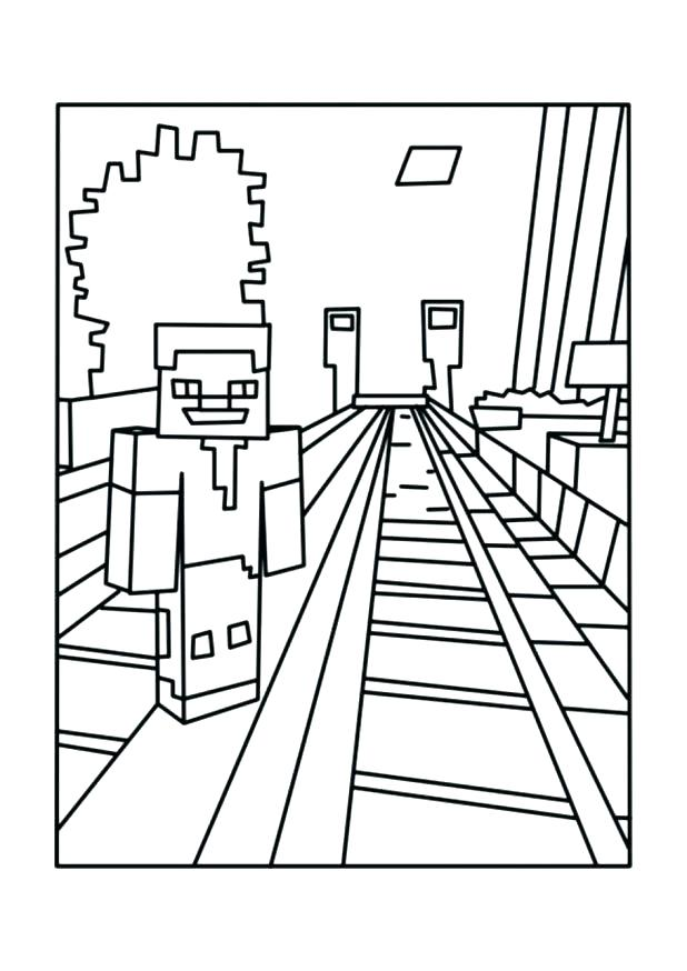 618x874 Minecraft Sword Coloring Pages Sword Coloring Pages Ocelot Sword