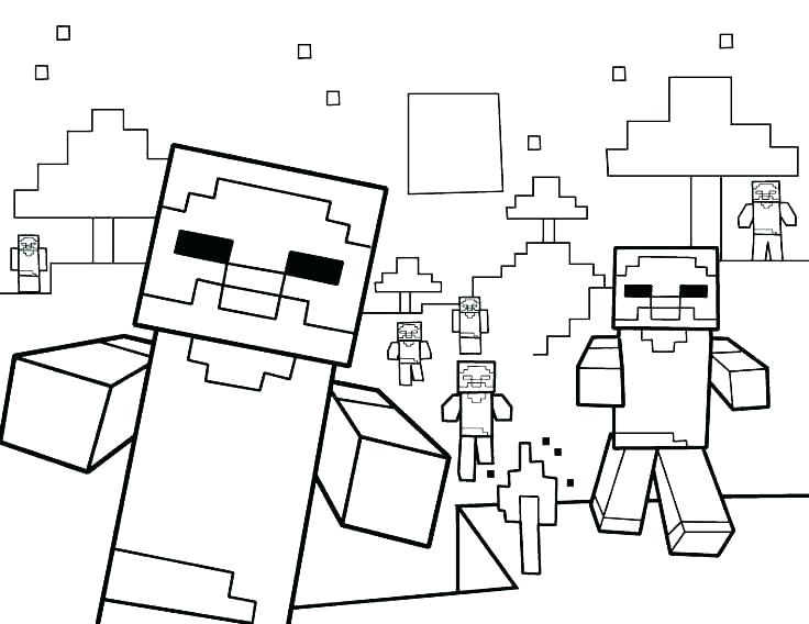736x568 Free Minecraft Coloring Pages Printable Coloring Pages Free
