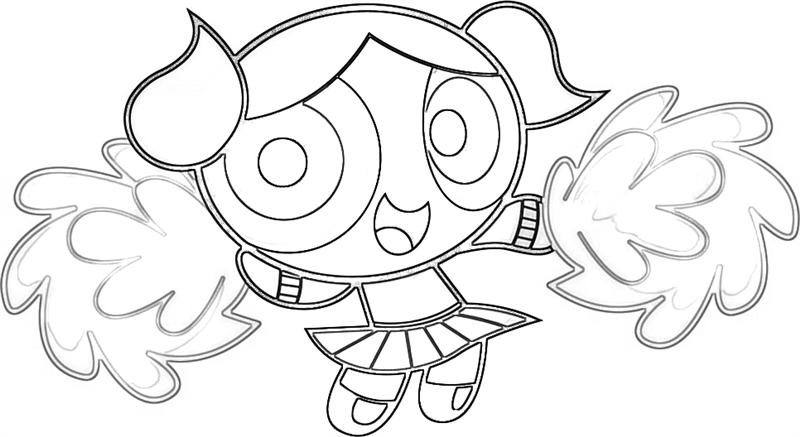 800x437 Powerpuff Girls Coloring Pages Free Printable Pictures Intended