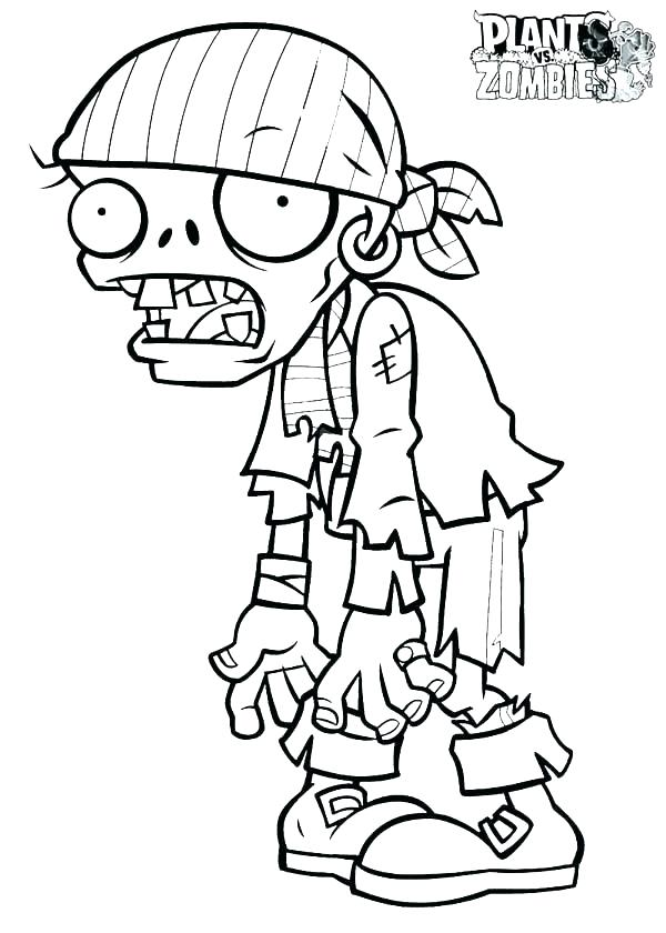 600x840 Zombie Coloring Pages Zombie Coloring Pages Girl Scary Pictures