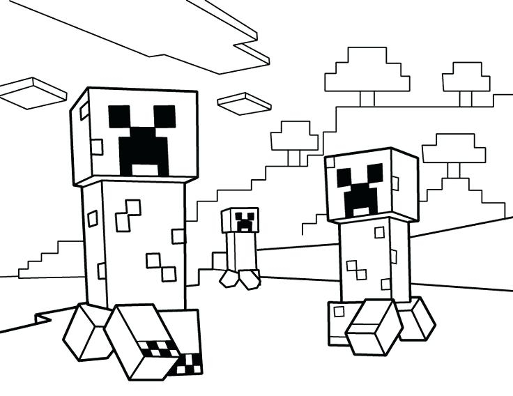 736x568 Coloring Pages Minecraft Minecraft Girl Coloring Pages Coloring