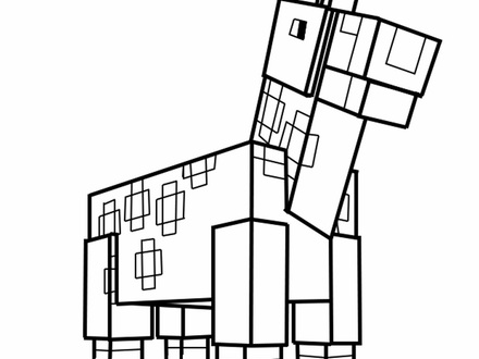 Minecraft House Coloring Pages at GetDrawings | Free download