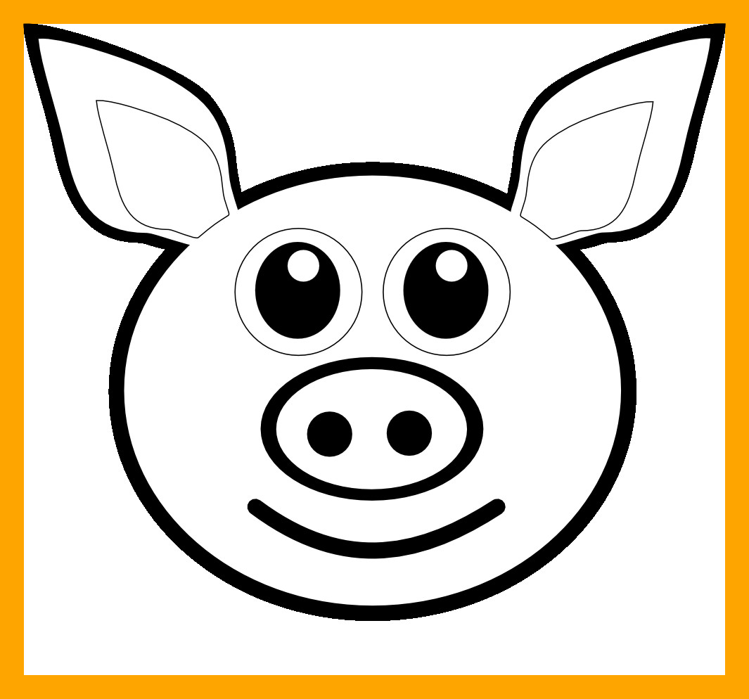 Minecraft Pig Coloring Pages