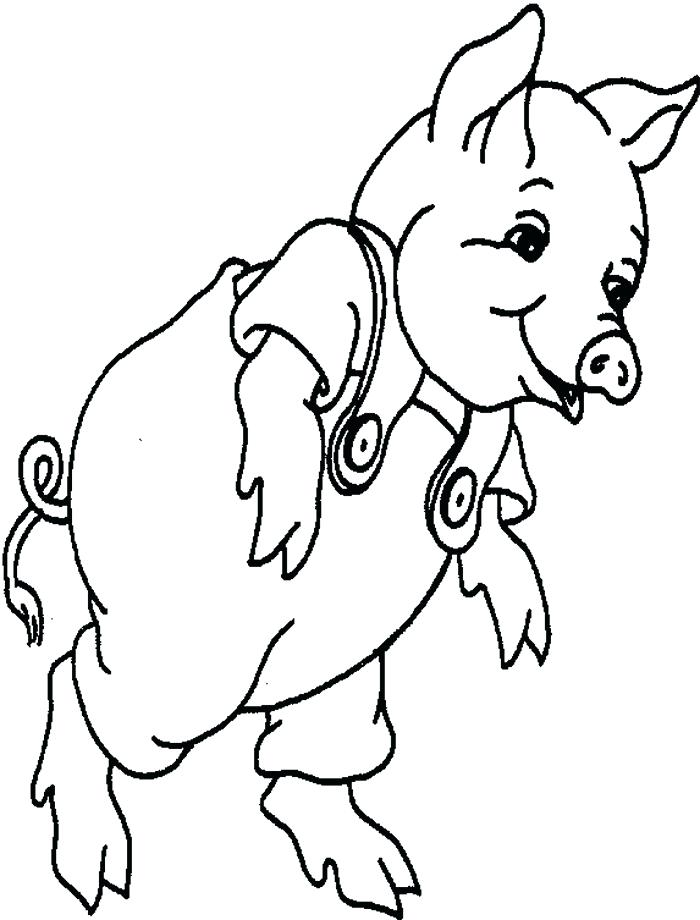 700x920 Baby Pig Coloring Pages Cute Baby Pig Coloring Page Minecraft Baby