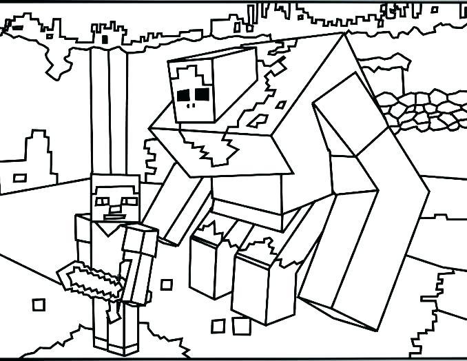 678x524 Printable Coloring Pages Minecraft Ing Ing Ing Ing Ing Ing Free