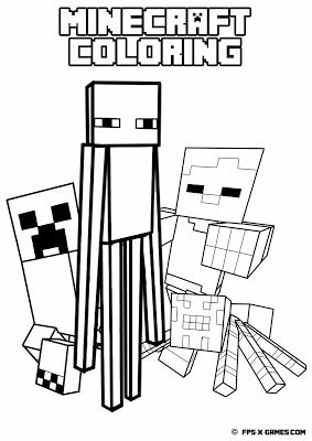 Minecraft Sheep Coloring Pages at GetDrawings | Free download