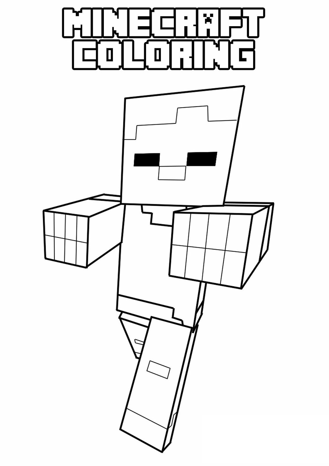 1131x1600 Inspiring Coloring Pages Of Minecraft Skin Pict For Stampy Cat