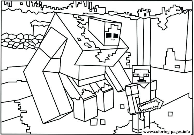 750x524 Minecraft Coloring Pages To Print Fresh Free Coloring Pages