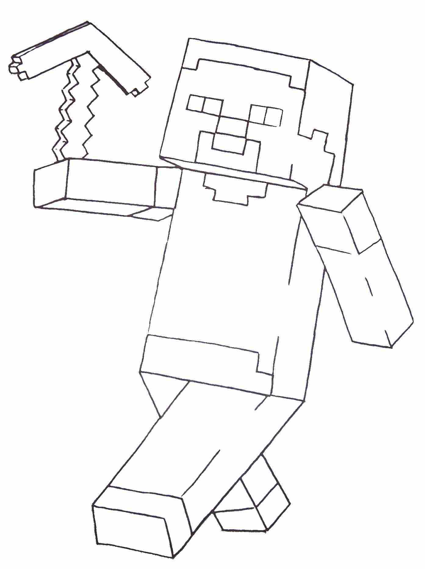 1393x1865 Minecraft Steve Coloring Pages Printable Within Skin Glum Me Showy
