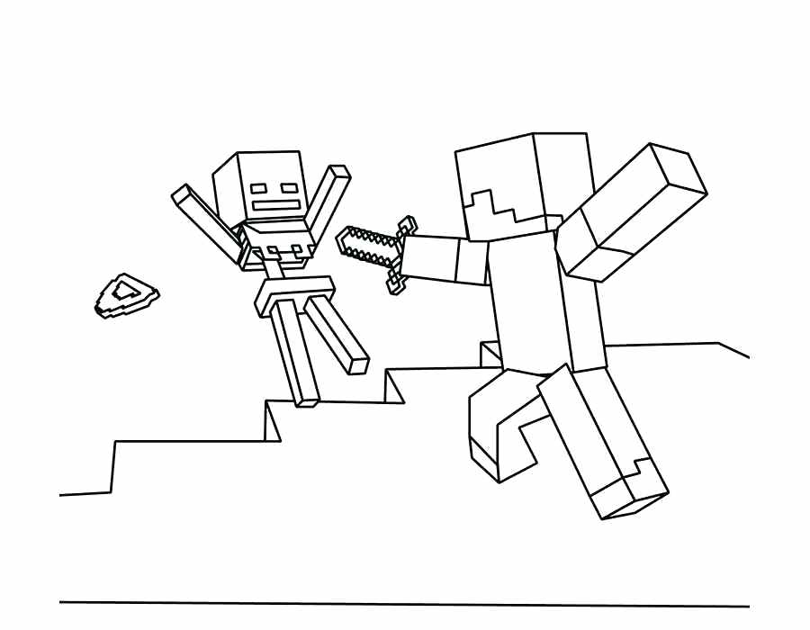 900x700 Coloring Pages Coloring Pages Minecraft Steve Coloring Pages Free