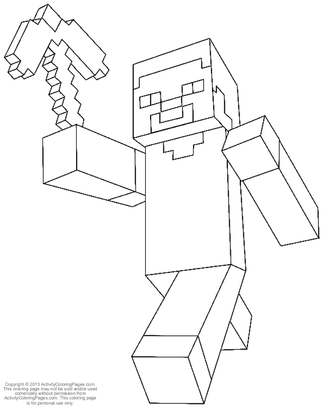 641x808 Fun Easy Coloring Pages That Are Minecraft To Print Out Index