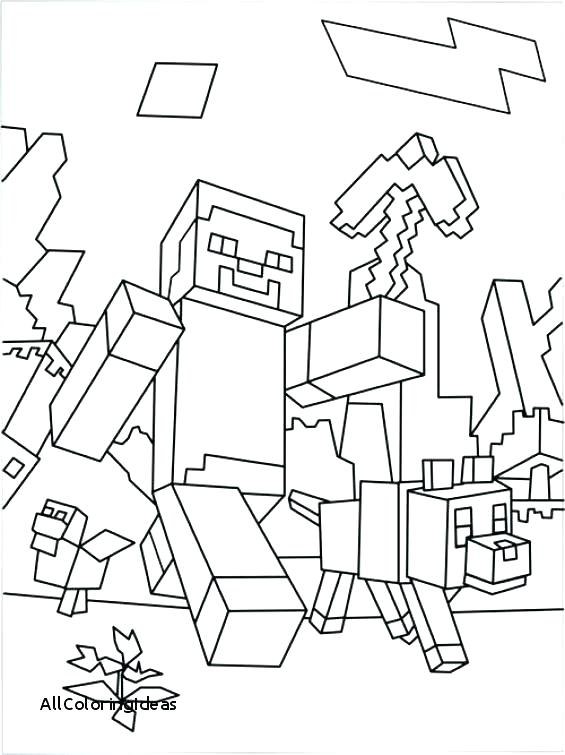 565x755 Minecraft Coloring Pages To Print