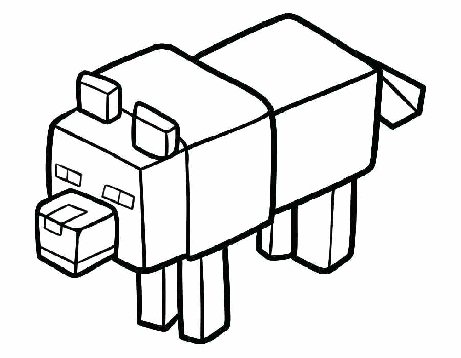 900x700 Minecraft Creeper Coloring Page Printable Coloring Pages