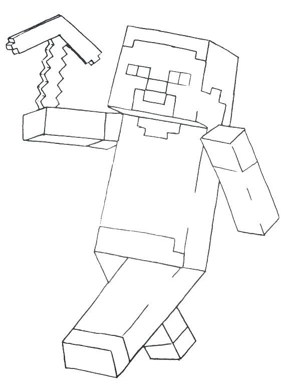 573x768 Minecraft Color Page