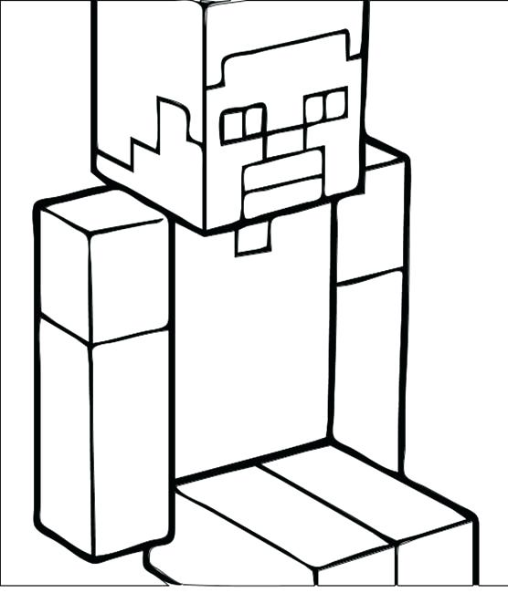 556x650 Minecraft Color Page Printable Coloring Pages Color Page Coloring