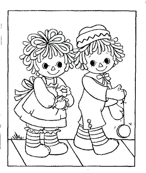 601x713 Raggedy Ann Coloring Pages Raggedy Ann Coloring Pages Raggedy