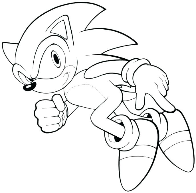 687x678 Sonic Dash Coloring Pages Sonic Dash Colouring Pages Free
