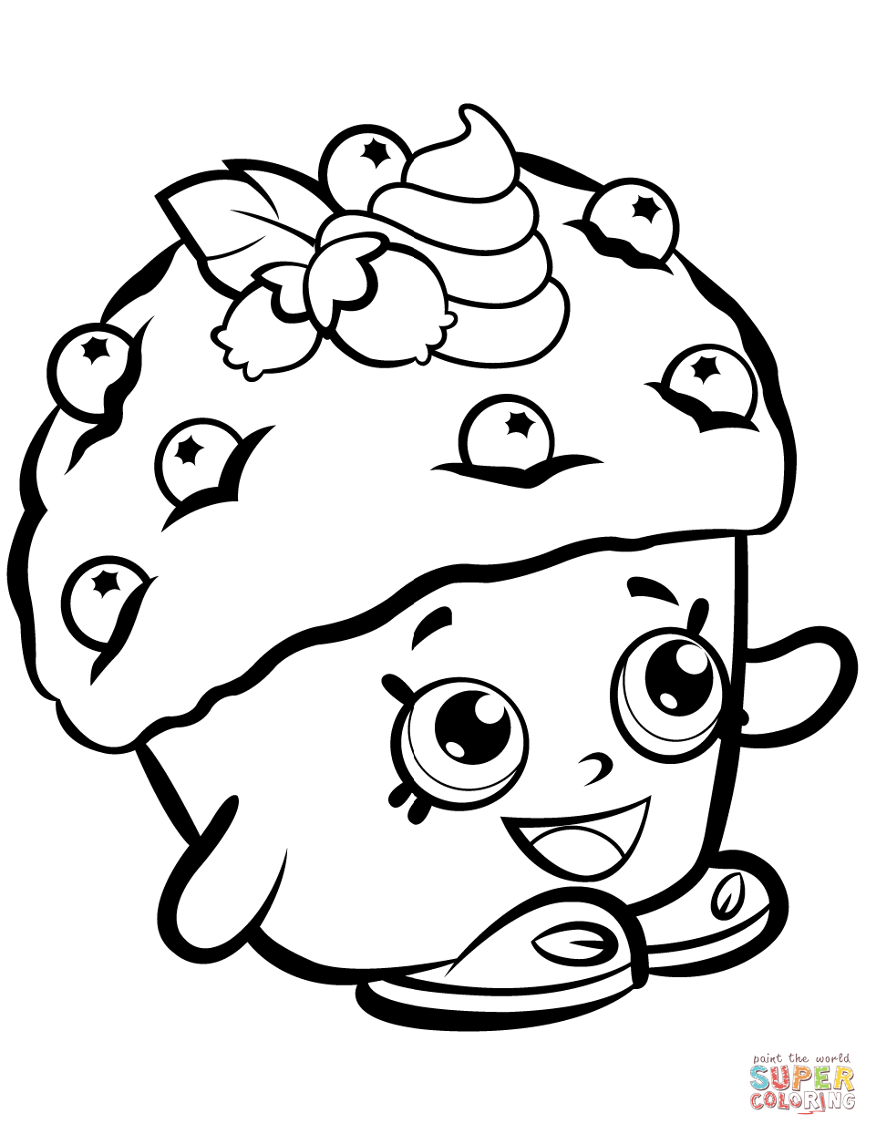 961x1244 Mini Coloring Pages Mini Coloring Pages Mini Muffin Shopkin