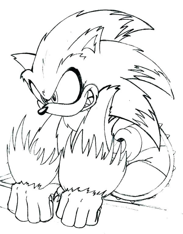 600x767 Sonic And Tails Coloring Pages Mini Coloring Pages Sonic And Tails