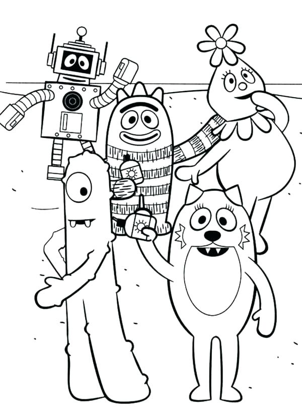 600x816 Mini Coloring Pages Yo Coloring Page Yo Holiday Vacation