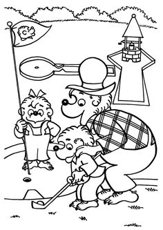 236x333 Mini Golf Colouring Pages