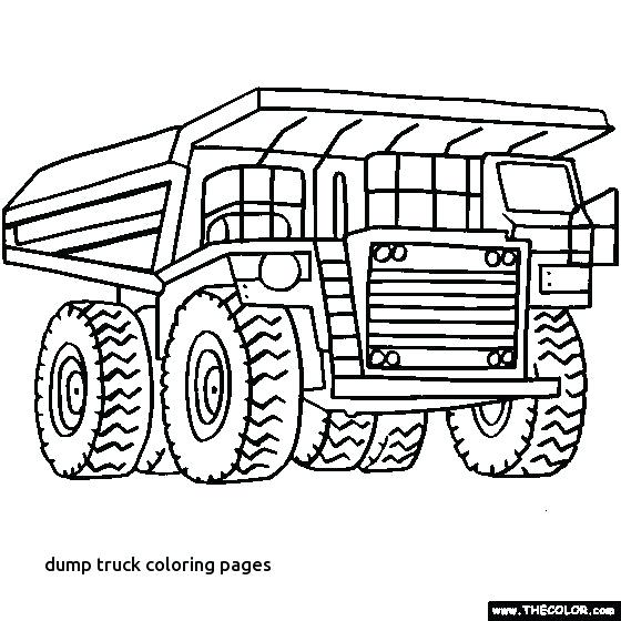 560x560 Firetruck Coloring Page Pages Truck Free Mining Dump To Print Fire