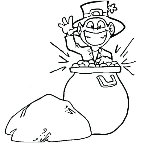 480x464 Gold Rush Printable Coloring Pages Pot Of Gold Coloring Pages Pot