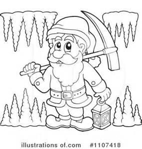 285x300 People Mining Coloring Pages Mining Color Pages