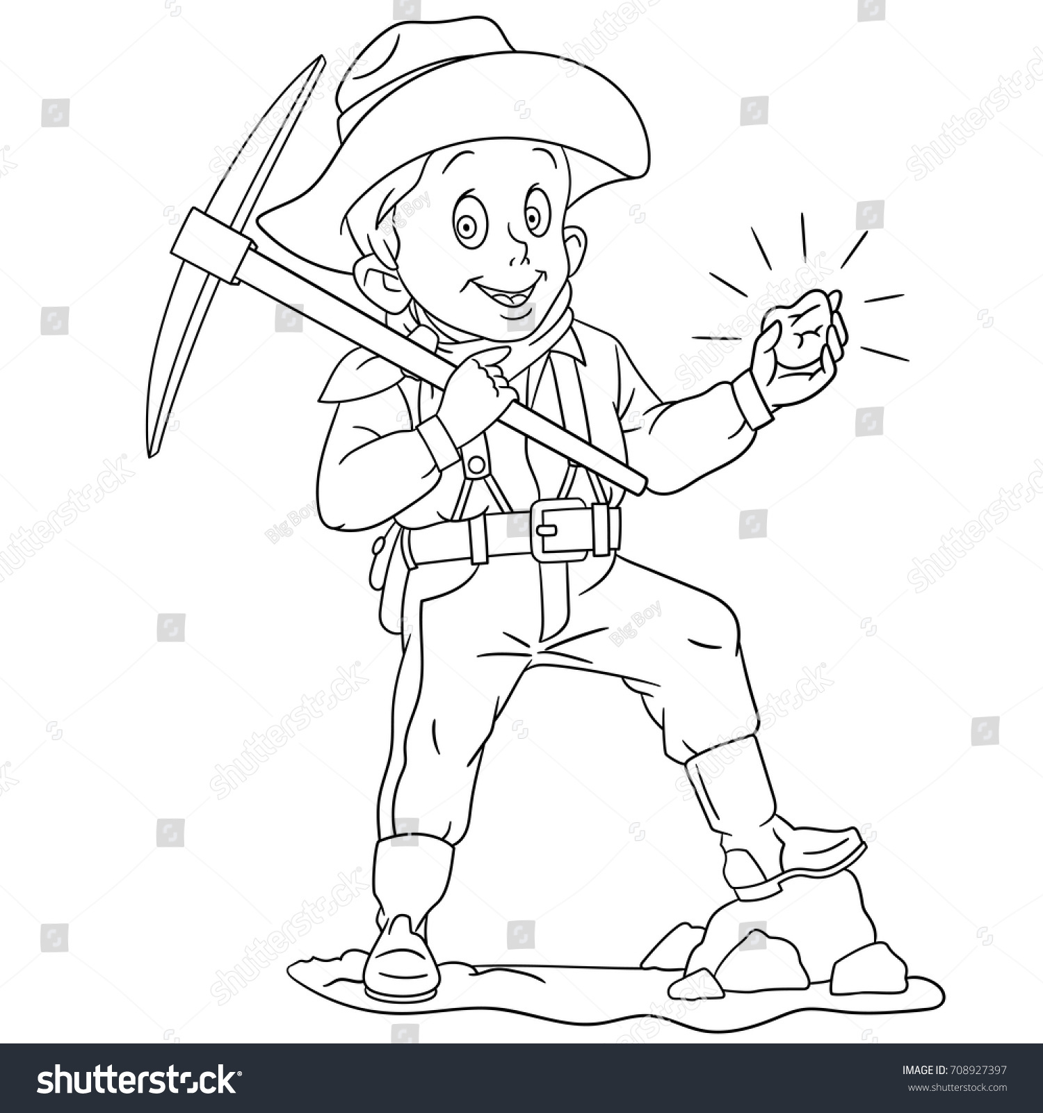 1500x1600 Tremendous Mining Coloring Pages