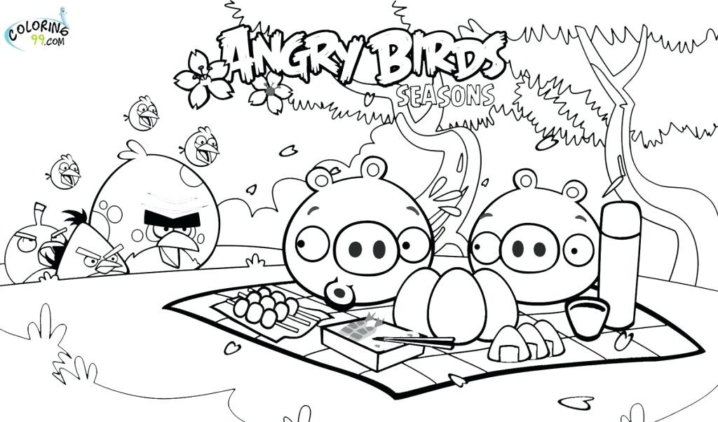 1024x602 Angry Birds Rio Printable Coloring Pages Fresh