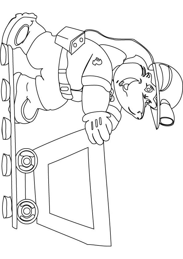 595x842 Coal Miner Coloring Pages