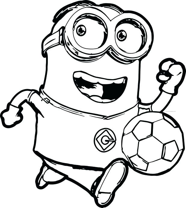 image relating to Minion Printable Coloring Page called Minion Birthday Coloring Webpages at  Cost-free for