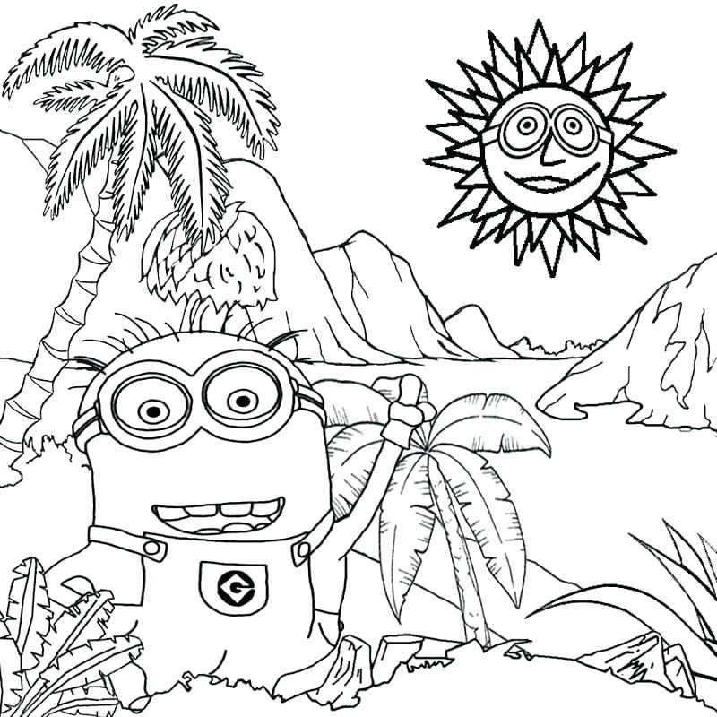 800x800 Minions Coloring Book Free Printable Minion Coloring Pages Copy
