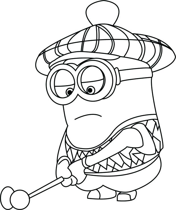 618x737 Free Printable Minion Birthday Coloring Pages Printable Coloring