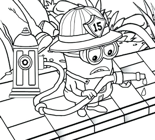 615x554 Free Printable Minion Coloring Pages Educational Coloring Pages
