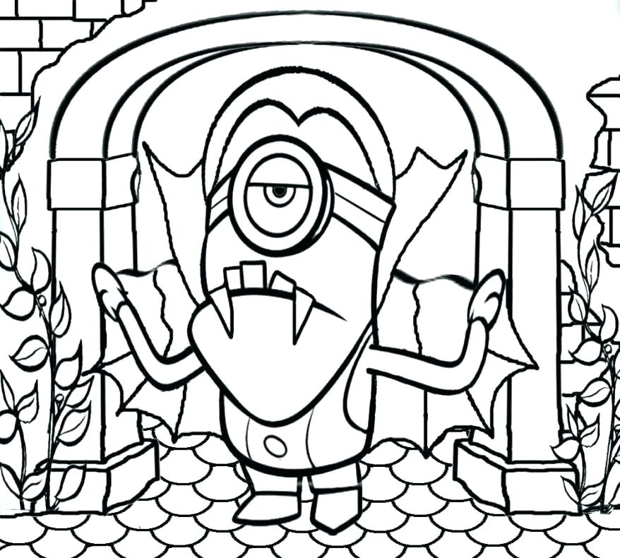 878x790 Good Free Printable Minion Coloring Pages Or Free Printable Minion