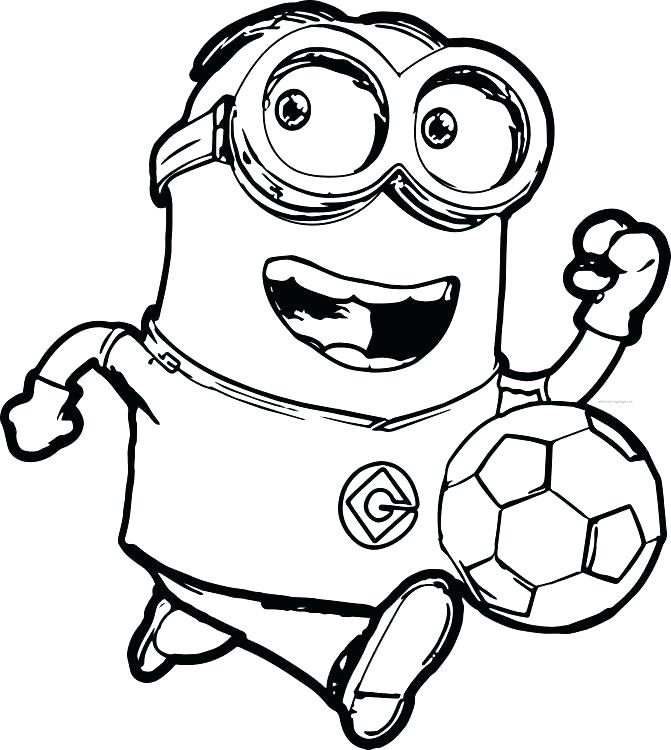 671x750 Minion Coloring Pages Minions Coloring Pages Medium Size