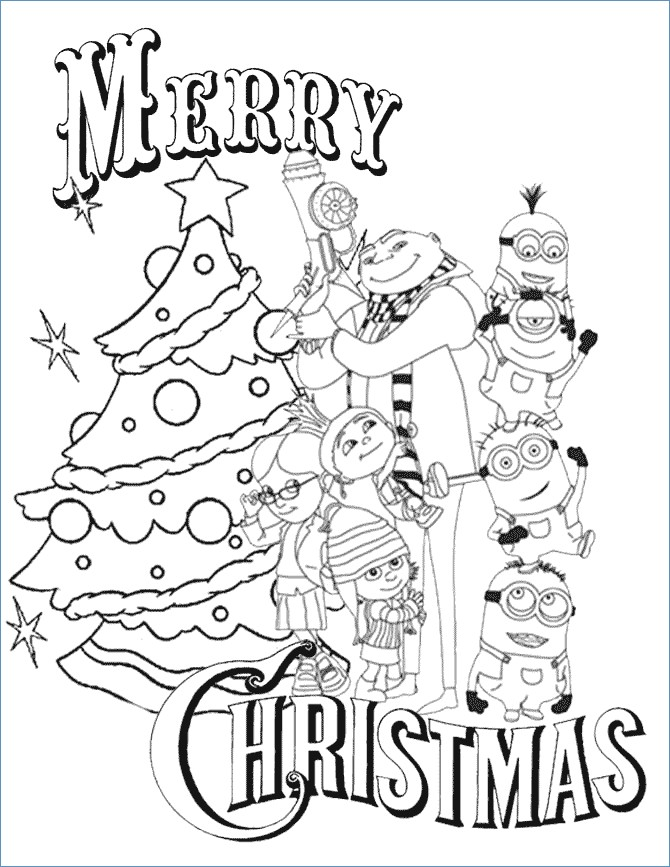 670x867 Simple Minions Despicable Me Coloring Pages