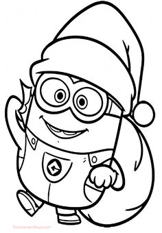 236x340 Printable The Minions Dave Coloring Page For Kids Free Online
