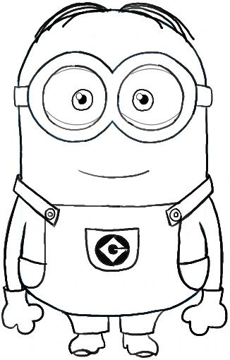 326x510 Minion Coloring Pages Birthday Parties Banderines