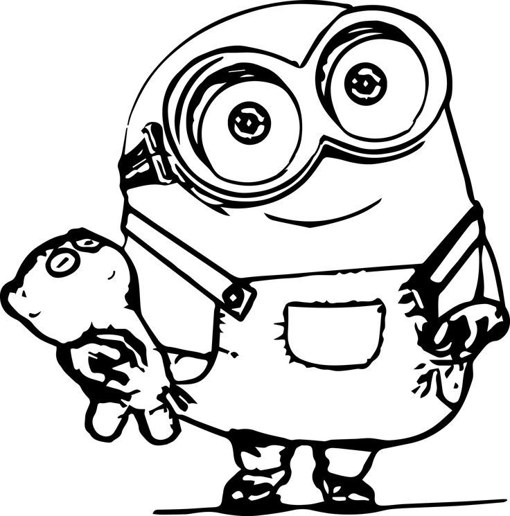 736x745 Minion Coloring Pages Crayons And Drawings