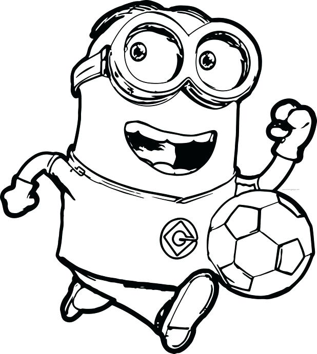 618x691 Minion Coloring Pages Evil Minion Coloring Pages Minions Of Book