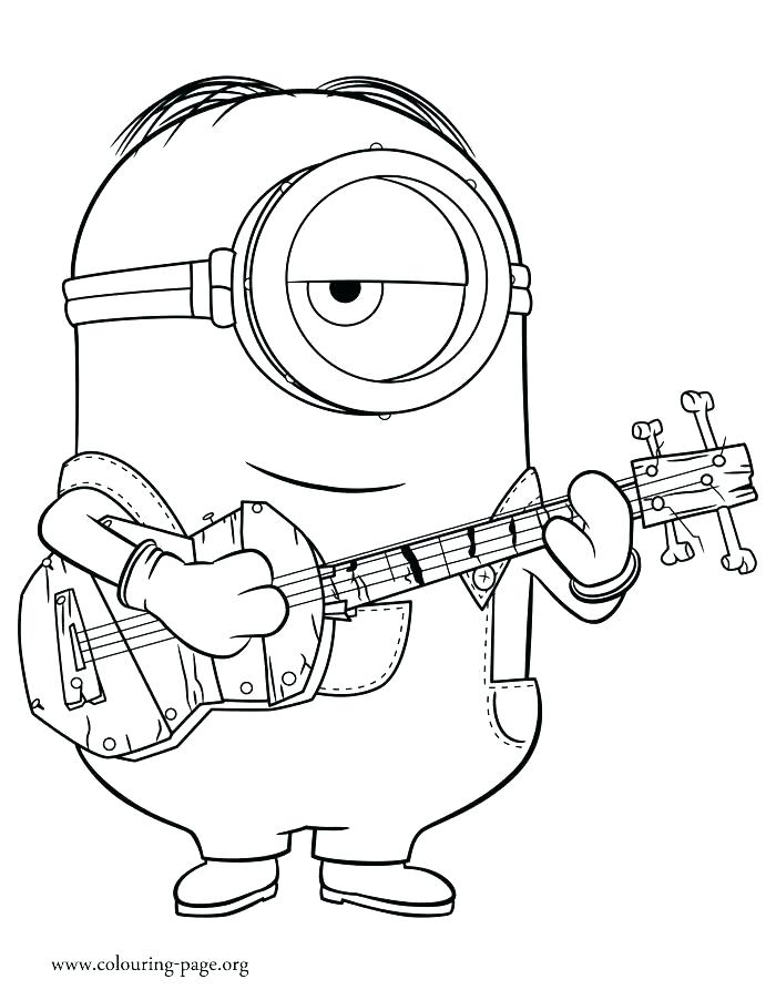 700x902 Minion Coloring Pages Minion Coloring Page Minions Book Pages