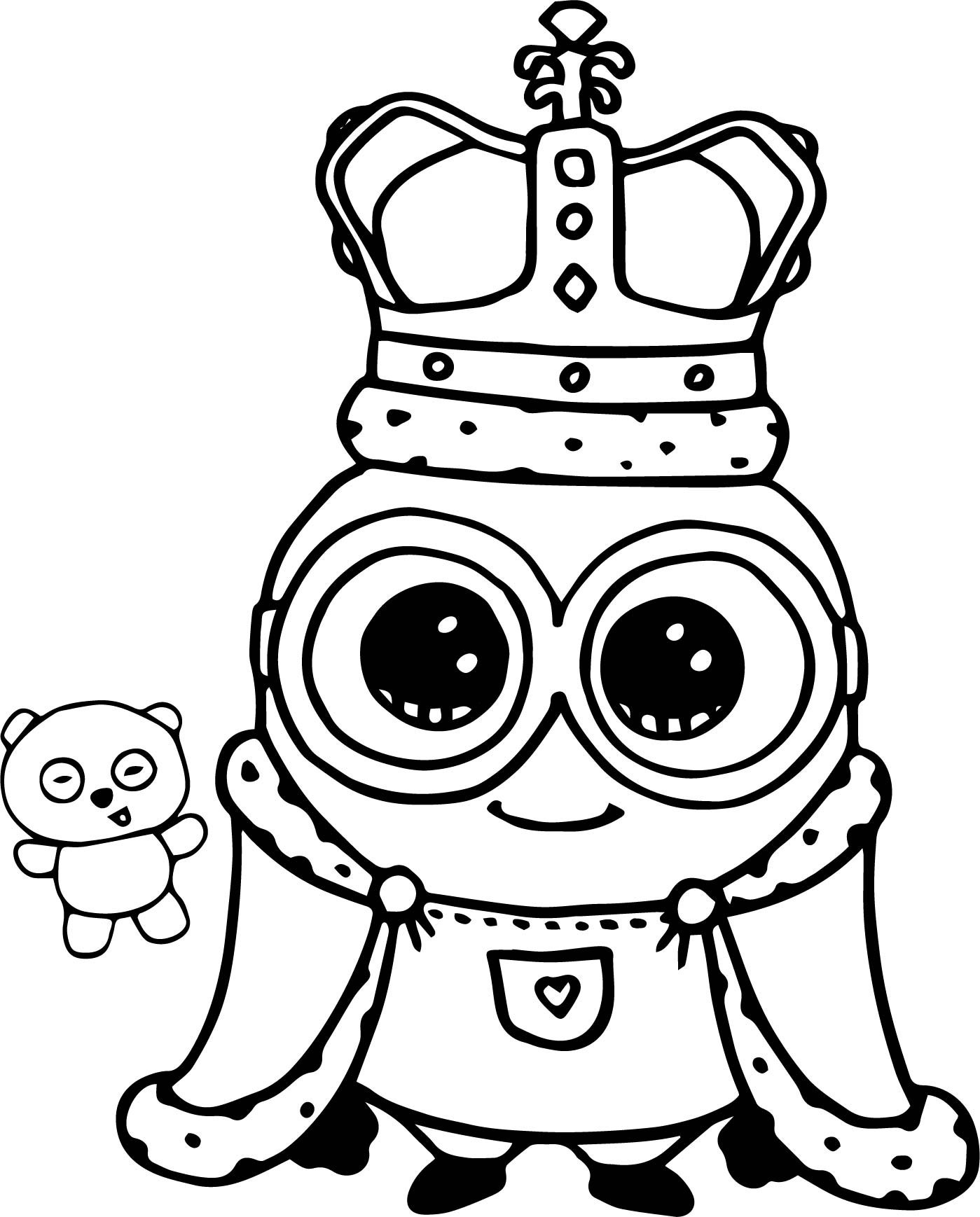 Minion Coloring Pages Bob At Getdrawings Free Download