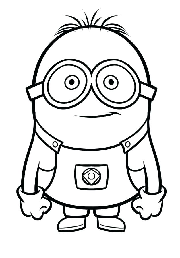 627x900 Minion Colouring Pages King Bob