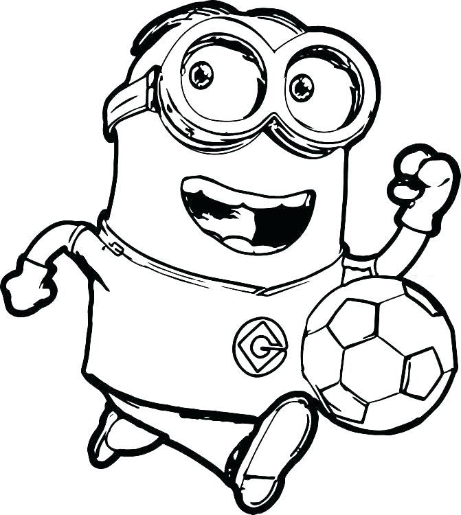 671x750 Minion Coloring Pages Minion Ice Cream Coloring Pages Also Minion