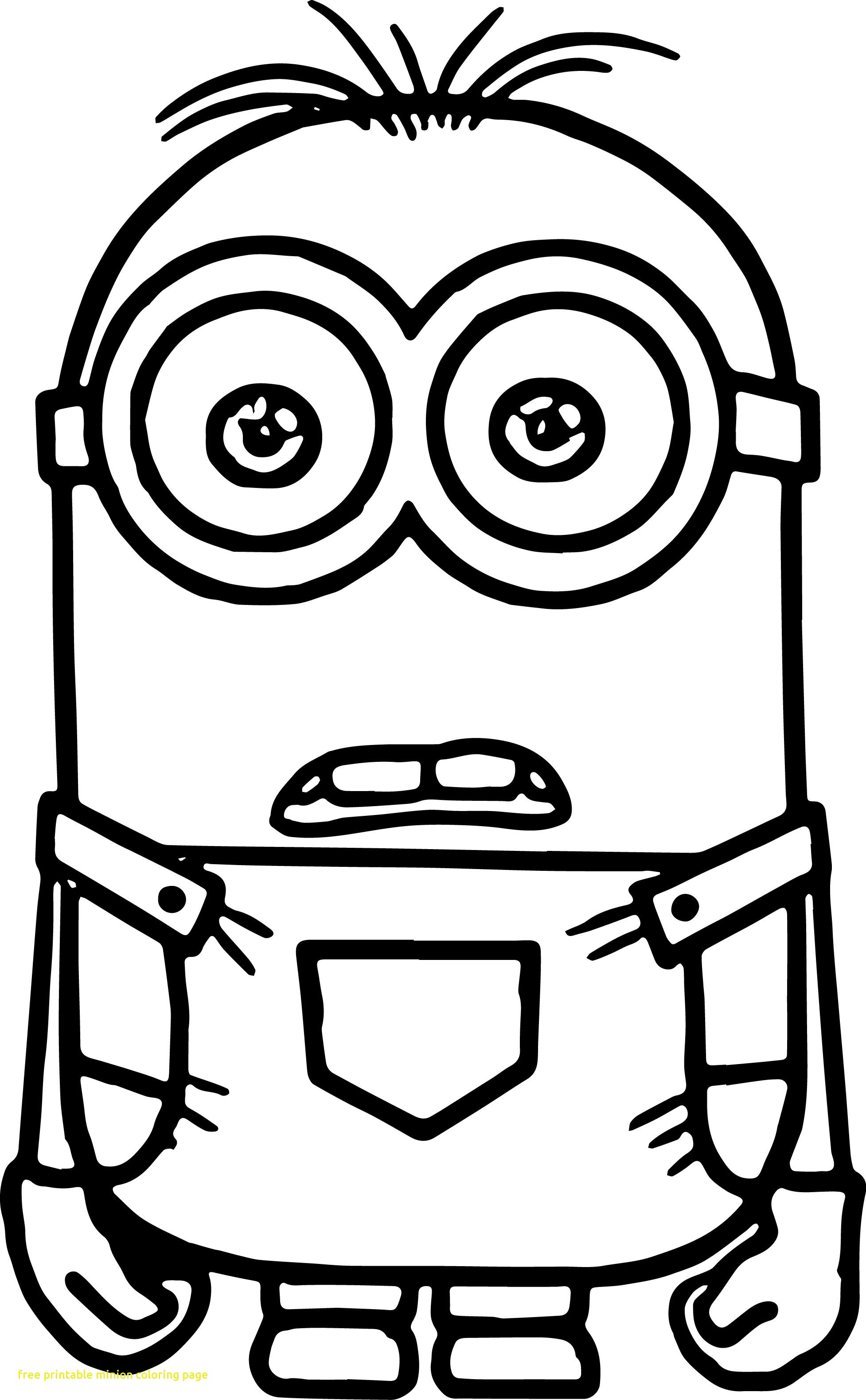 1954x3159 Free Printable Minion Coloring Page With Pages Tearing To Print